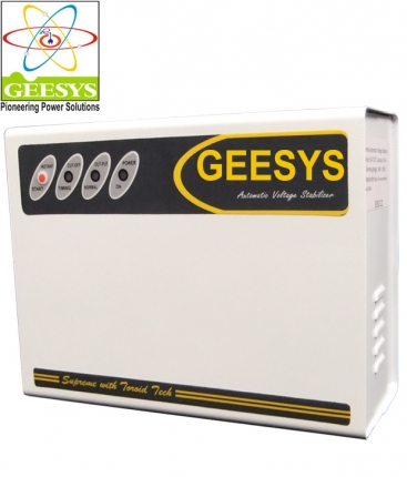Geesys GSD3KA Double Boost Automatic Voltage Stabilizer (Load: 9 Amps)