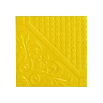 Omega D5 Series 12 x 12 inch Yellow Color Outdoor Tile - Box of 4 Tiles