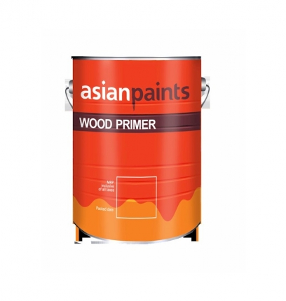 Wood Primer - Asian Paints (20 Litre) White Color