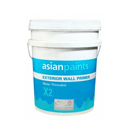 Exterior Wall Primer Asian Paints 10 Litre White Color A