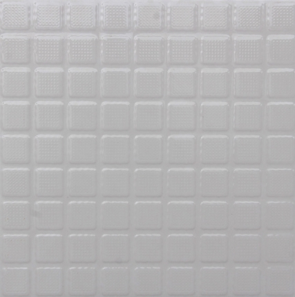 Roof Plus 300 x 300 mm Weather Proof White Color Tile - Box of 10 Tiles