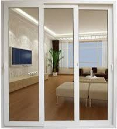 uPVC Sliding Windows with 5mm Clear Glass (2413x2286 mm) - LG Hausys