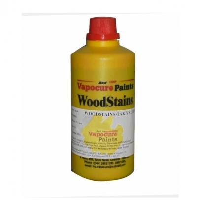 1 Litre MRF Vapocure Oak Yellow shade Wood Stains Paint