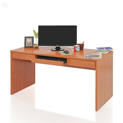 Cherry Finish Computer Table