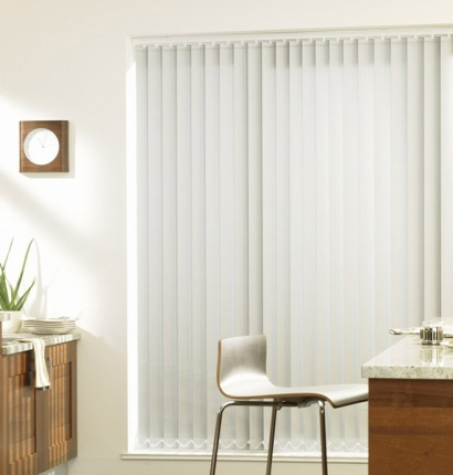 Impact Series 1900 Blackout Fabric Vertical Blind 4x4 Square Feet