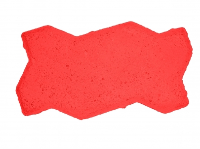 Excon M40 Zigzag Red Normal Mould Commercial Paving Blocks (1000 Square Feet Per Load)