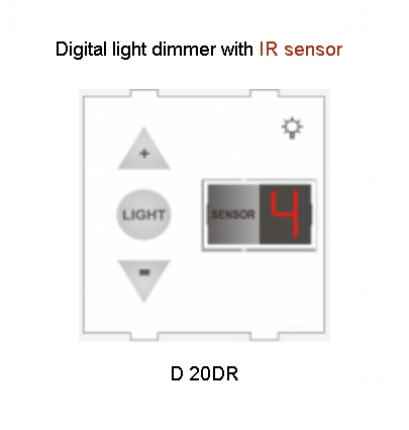 Kremot Digital Light Dimmer with IR Sensor & Panel