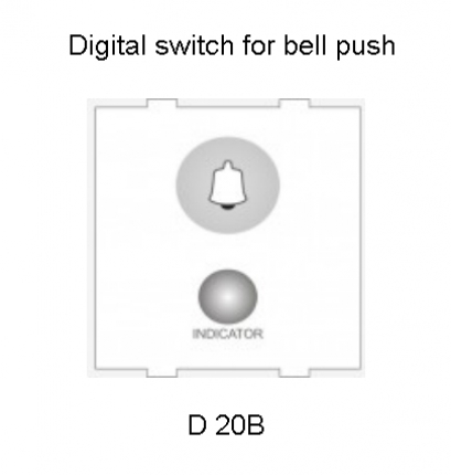 Kremot Digital Switch with Bell Push Button & Panel