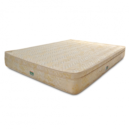 Spring Mattress - Raha Celeste Euro Top Two Sided Reversible Double Bonnell Spring Mattress (72 x 66
