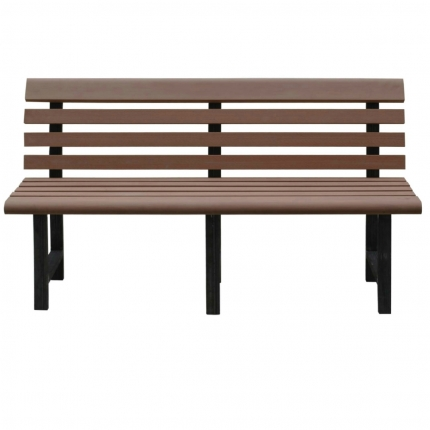Garden Bench with Back Rest