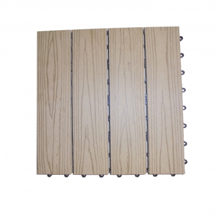 WPC (Wood Plastic Composite) Outdoor Tile 22 mm Thick 300 x 300 mm