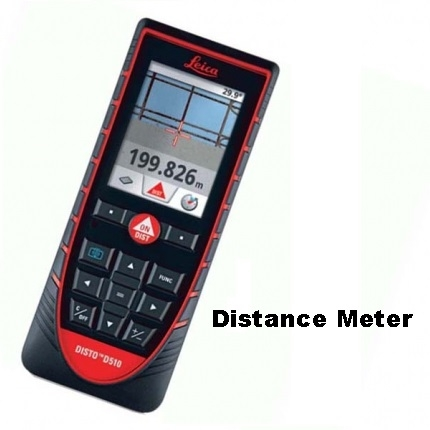 Laser Distance Meter Leica Disto D510 Best Outdoor Functionality & Apps
