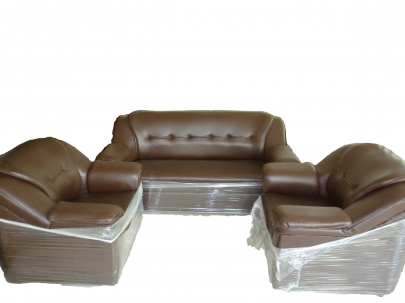 Buildmantra Com Cushion With Rexine Cover Sofa Set 3 1 1
