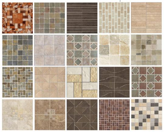Kag Front Elevation Tiles : Buildmantra online at best price in india building
