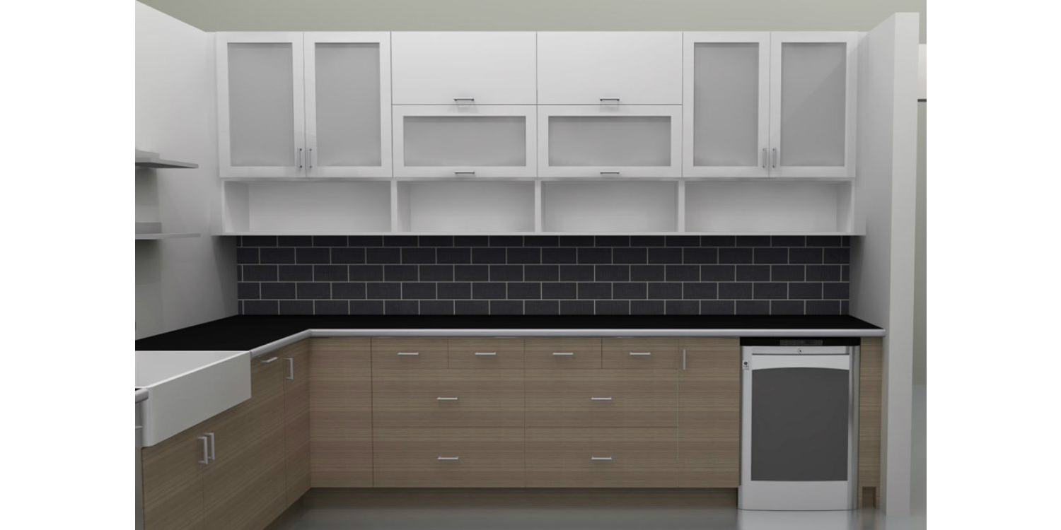 modern kitchen cabinets material in india. small kitchen design
